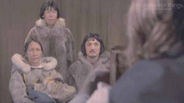 Inuit Family Human Zoo