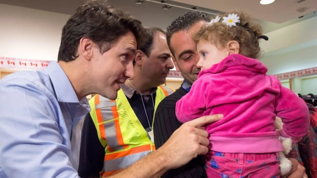 Justin Trudeau's Liberals spent $389,750 in internet advertising to urge Canadians to welcome Syrian refugees.