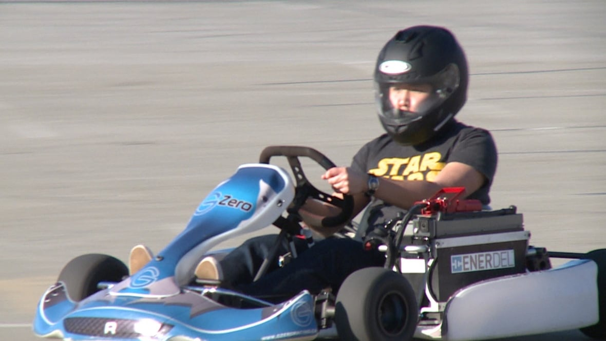 Electric go kart racing making inroads in metro vancouver for Go kart montreal exterieur