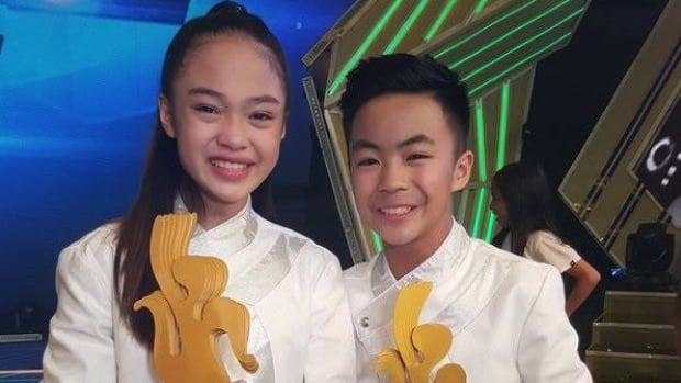 Reyond Lucky Ancheta and Andree AC Bonifacio were crowned the winners of Dance Kids, a nationally-televised competition in the Philippines, on Sunday.