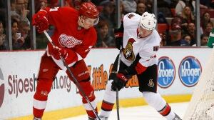 Senators come up short against Red Wings