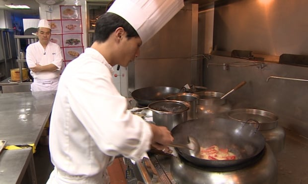 Chef in Shanghai
