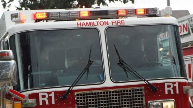 The Hamilton Fire Department attended a structure fire that closed parts of King Street East on Thursday morning.