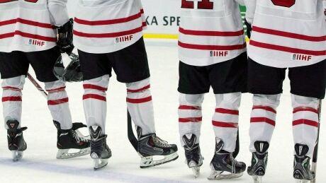Minor hockey generic pants skates