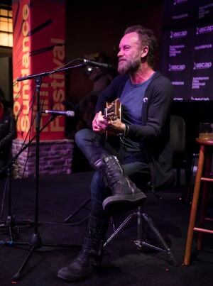 2016 Sundance Film Festival - Sting Performance