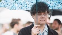 Ron Sexsmith w/ umbrella