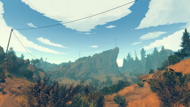Firewatch is set in a Wyoming national park in 1989, a year after the Yellowstone wildfires.