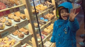Refugee family checks out Tim Hortons for the first time