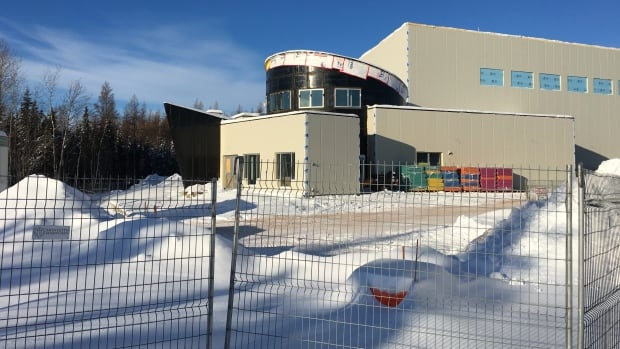 Fort Chipewyan's new pool is under construction and is expected to be open by September.