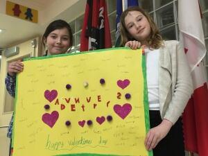 mother mary greene school valentines seniors