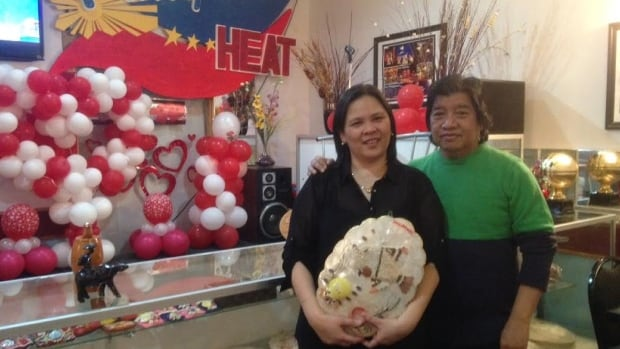 Pamela and Sonny Florentin, owners of Pinoy Heat in Regina.