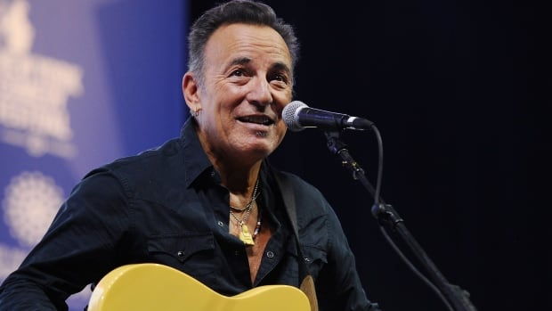 Bruce Springsteen, shown during a benefit concert November 10, 2015 in New York City.