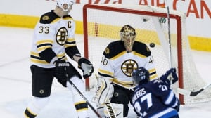 Jets mauled by Bruins attack