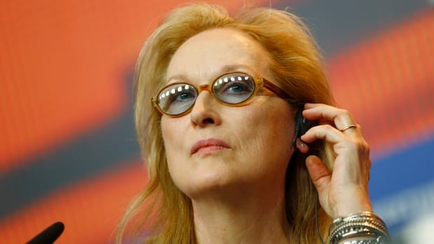 Jury President Meryl Streep tried to answer questions about diversity in filmmaking at a news conference for the 2016 Berlinale Film Festival on Thursday.