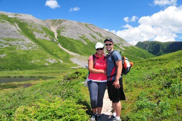 Tony and Genevieve Leitao, Gros Morne Mountain
