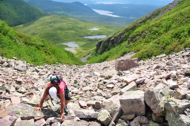 Genevieve Leitao Gros Morne Mountain