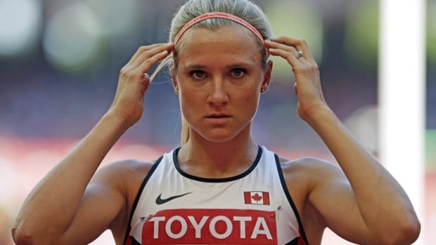 Saskatchewan's Brianne Theisen-Eaton, seen here in 2015, is a 27-year-old Olympian representing Canada at the Rio Olympics.