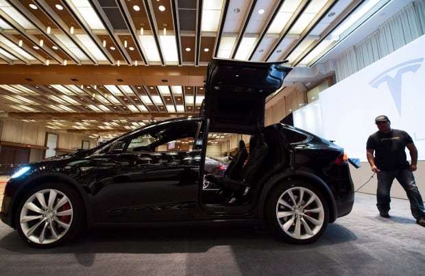CDN International Autoshow Tesla Model X