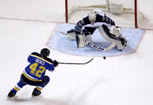 Jets Blues Hockey