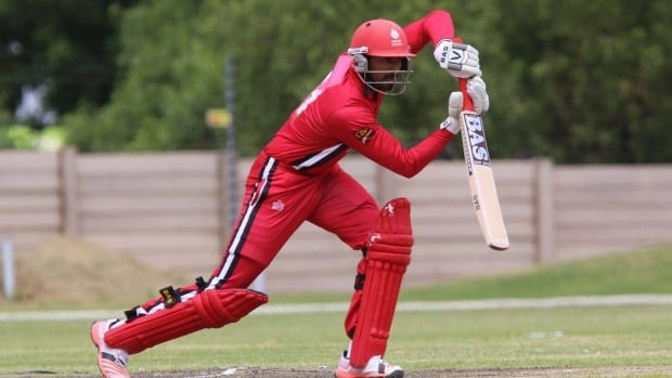 Hamza Tariq was drafted by the Trinbago Knight Rigers of the CPL.