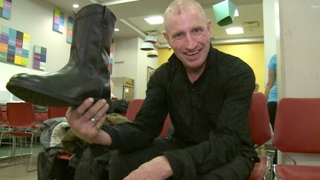 Residents on Vancouver's Downtown Eastside get new shoes