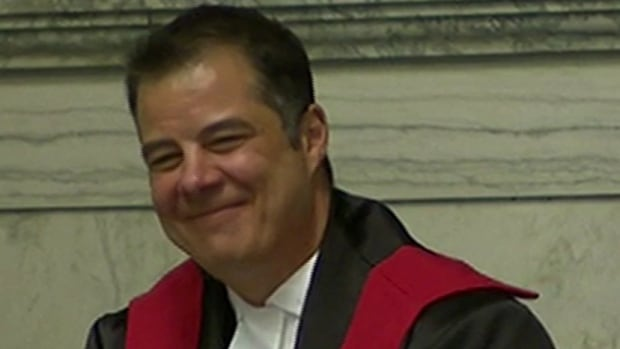 Kael McKenzie was sworn in as Canada's first transgender judge in Winnipeg in February.