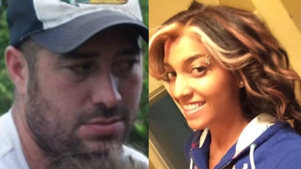 Travis Porteous (left) shot his former partner Sarah Cameron (right), as well as her father, before turning the gun on himself. Cameron survived but her father did not.