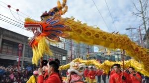 Chinese New Year parade in Vancouver to draw 100,000 spectators