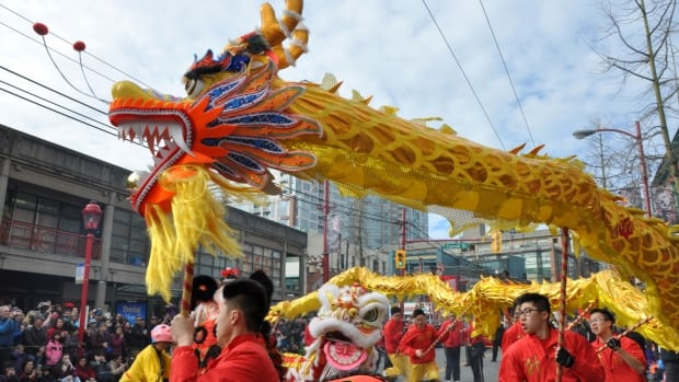 Vancouver's Chinese New Year parade is famous for its lion and dragon dances.