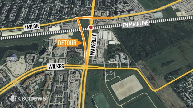 Waverley detour