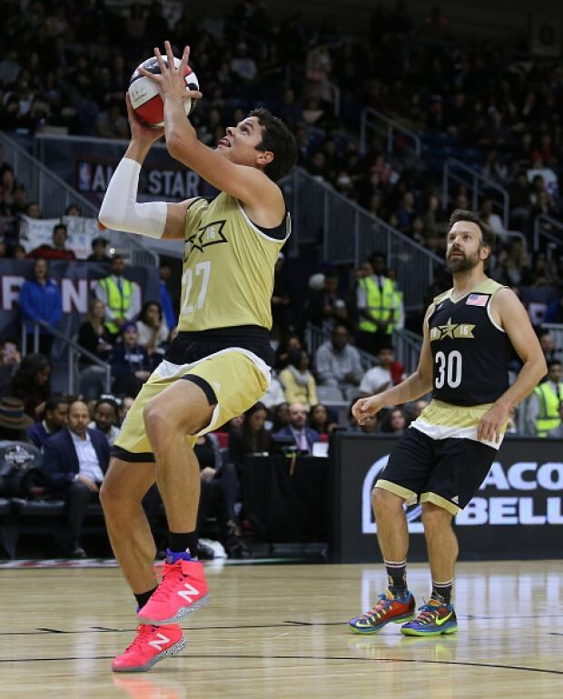 Milos Raonic NBA All-Star celebrity game