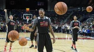 NBA All-Star hoopla