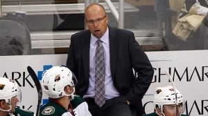 Wild fire head coach Mike Yeo