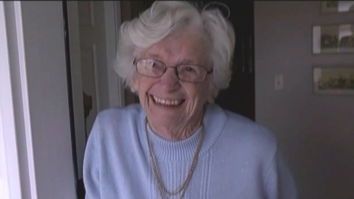 Waving Great Granny Gets Valentines Day Surprise From