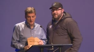 Conservationist Shaun Hollingsworth emotional over Tim Jones award