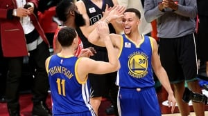 NBA All-Star Saturday: Warriors' Curry, Thompson square off in 3-point contest