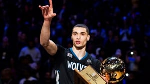 NBA All-Star Saturday: Zach LaVine defends dunk crown in epic showdown