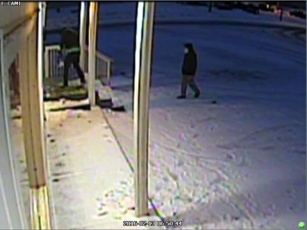 Suspects entering convenience store in Marystown
