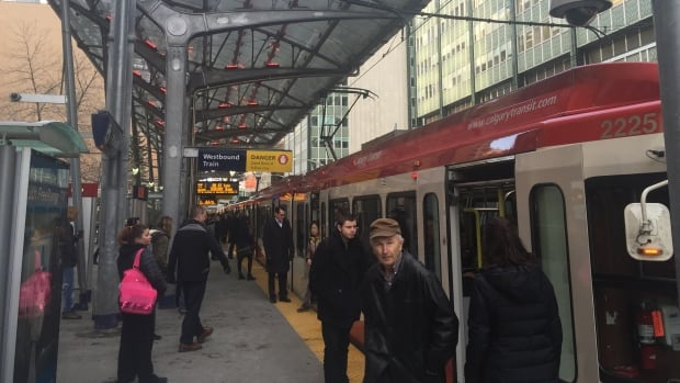 Wi-Fi is now available at 6 additional C-Train stations, including this one at 7th Street S.W.