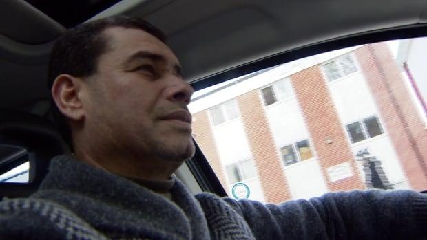 Abd Al-Minshidawi driving