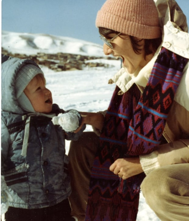 A Mother's Reckoning Image - Sue and Dylan in the snow
