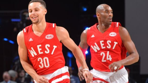 The NBA All-Star Game in Toronto was a huge success as fans witnessed a changing of the guard with Kobe Bryant, right, in his final all-star appearance, handing off to Steph Curry, an ascending superstar.