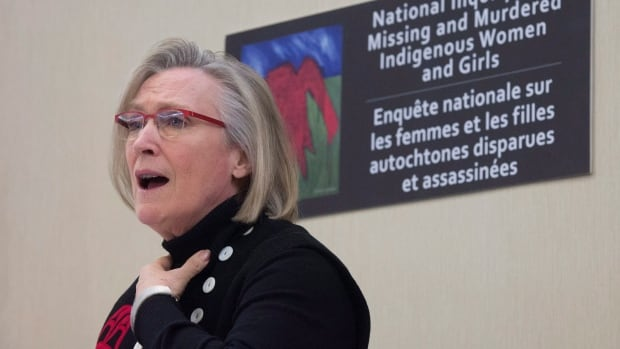 Minister of Indigenous and Northern Affairs Carolyn Bennett says there is a lot of anger and cynicism directed at police from the families of missing and murdered indigenous women.