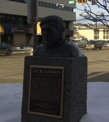 Jack London Sculpture