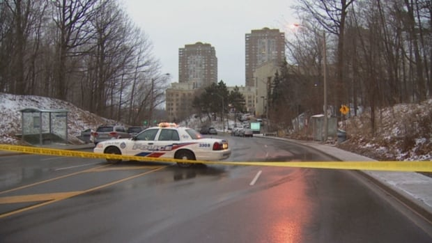 Toronto police are investigating a shooting at Toronto Don Valley Hotel & Suites located on Wynford Drive on Monday.