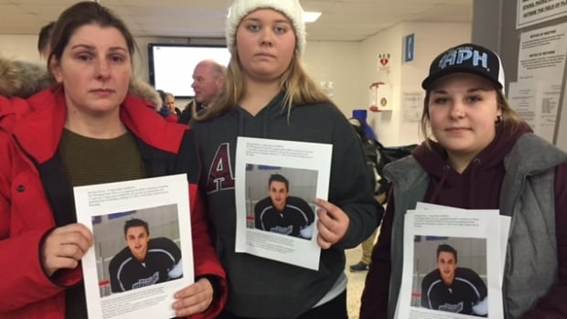 Cooper James Nemeth's aunt, Laresa Sayles (left), and others are asking for people to keep an eye out for the 17-year-old. He was last seen Feb. 14.