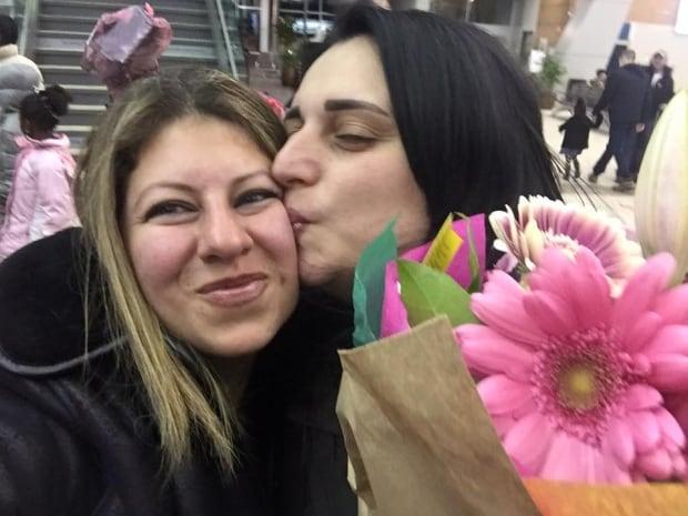 Sally Mitri Itani reunited family 3