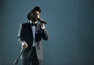 The Weeknd performs at the 58th Annual Grammy Awards Feb 15 2016