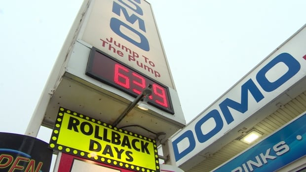 Regina residents filled up the tank as gas prices dropped.