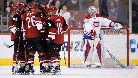 Canadiens Coyotes Hockey